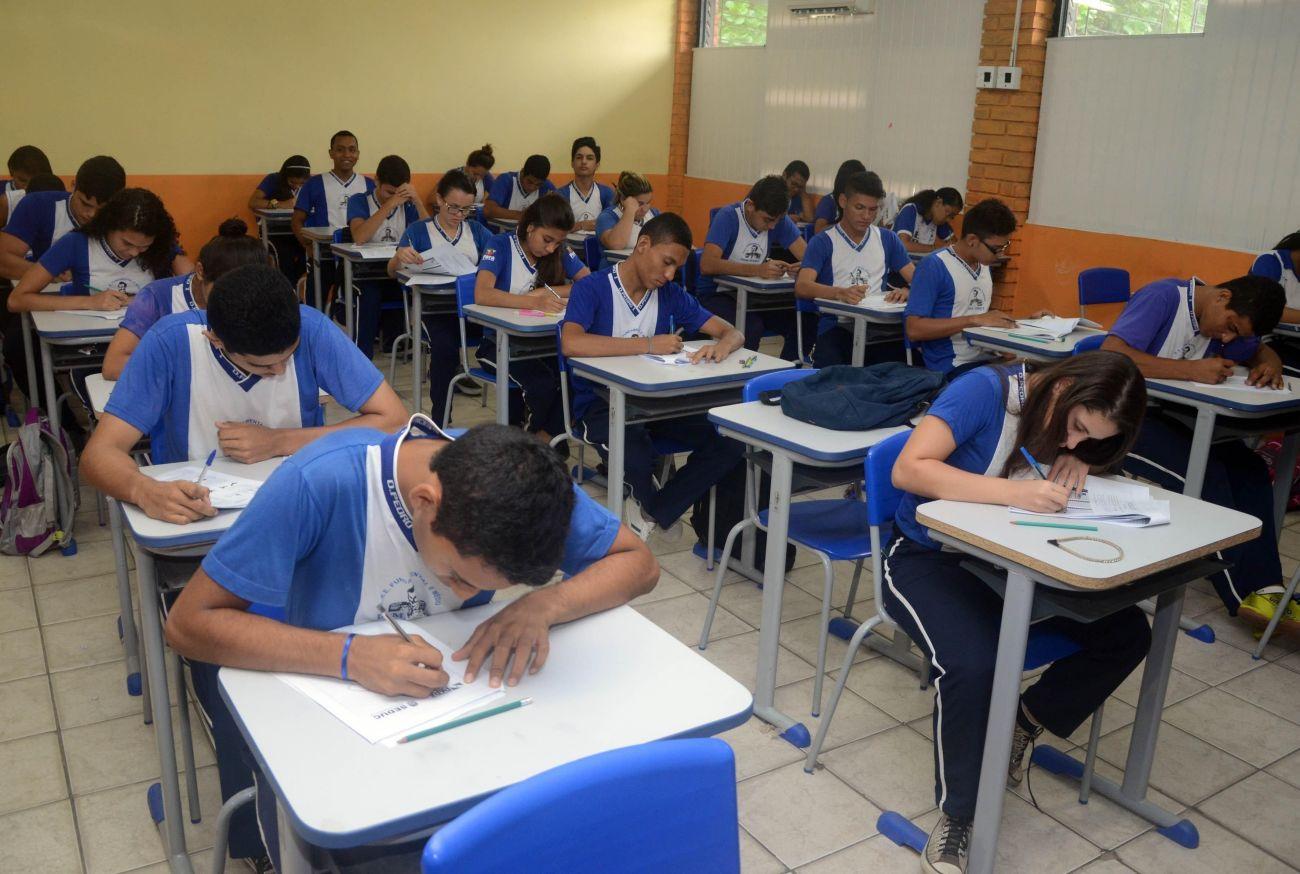 Pré-matrícula para a rede estadual de ensino ocorrerá entre 14 de dezembro e 9 de janeiro