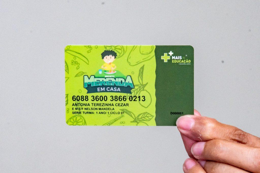"""Semed afirma que 3,5 mil agendamentos do """"Cartão Merenda em Casa"""" já foram realizados"""